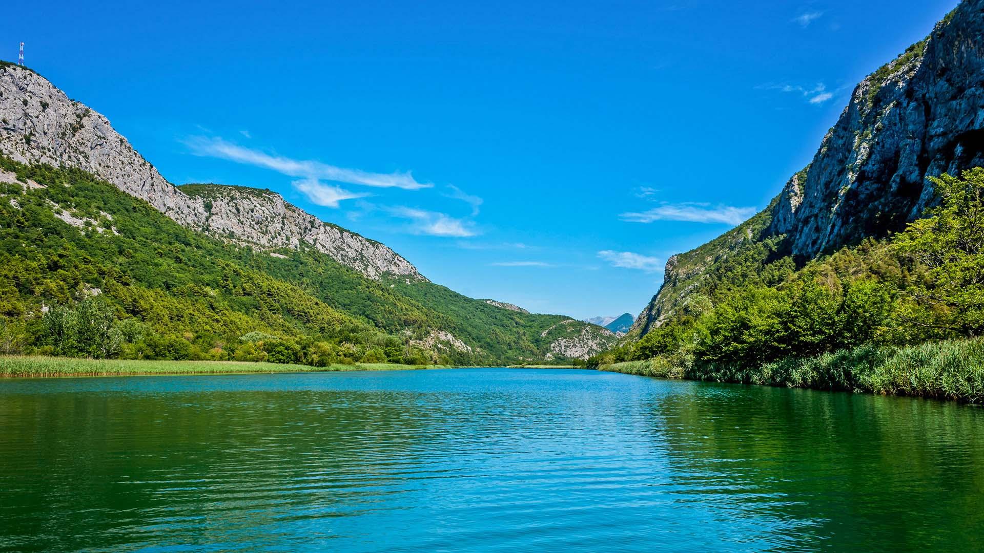 Omis Cetina river
