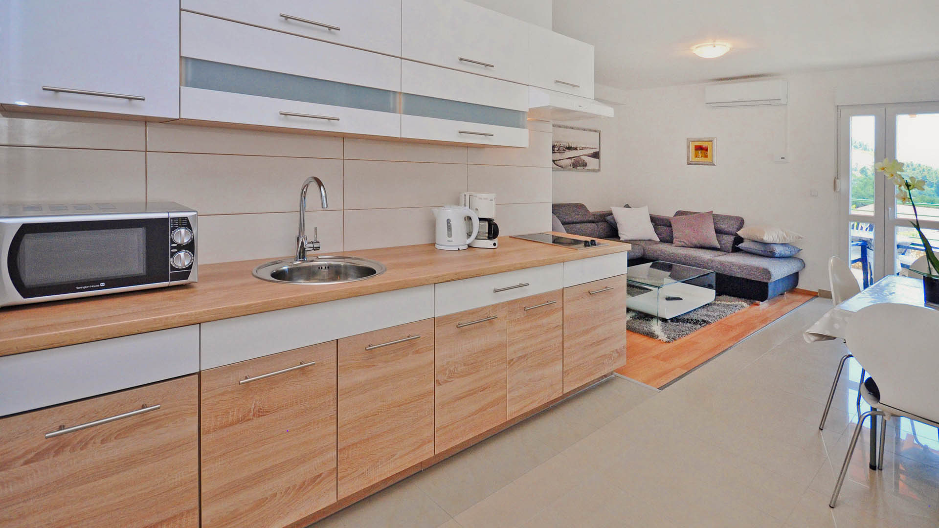Residential Apartment kitchen
