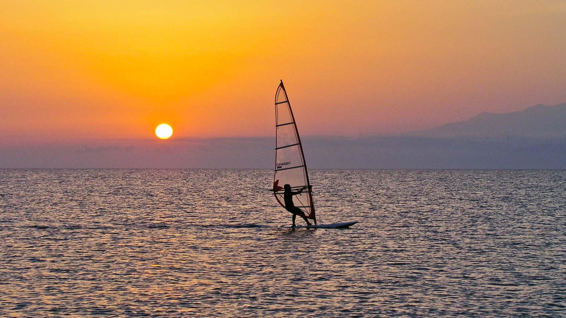 Omis windsurfing