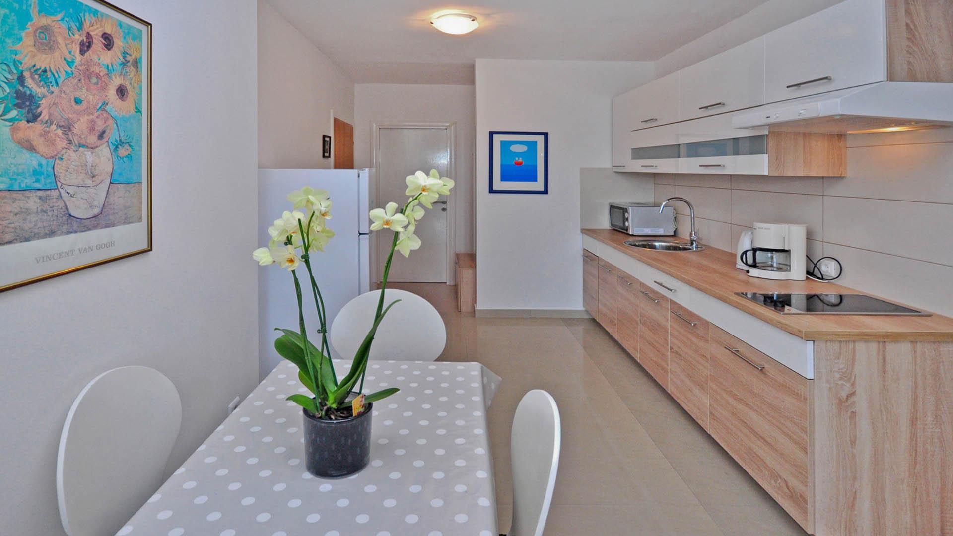 Omiš rezidencijalni apartman kuhinja
